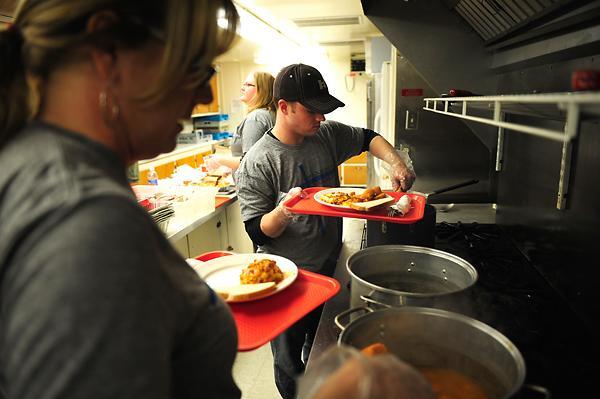 Houston Soup Kitchen Volunteer Christmas
