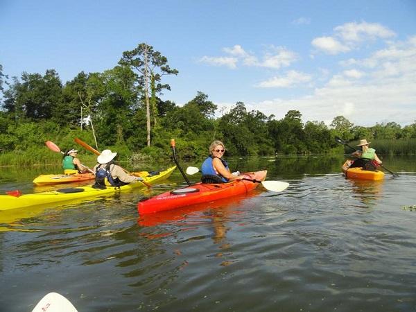 Image result for armand bayou kayak